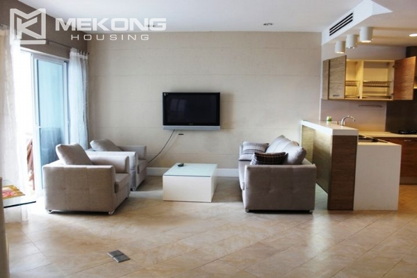117 sqm apartment with 2 bedrooms and Westlake view for rent in Golden Westlake Hanoi 1