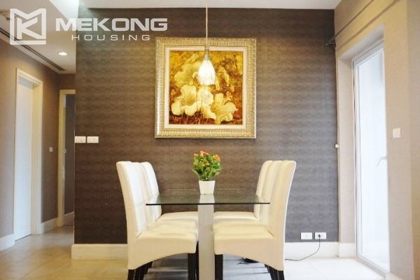 117 sqm apartment with 2 bedrooms and Westlake view for rent in Golden Westlake Hanoi 2