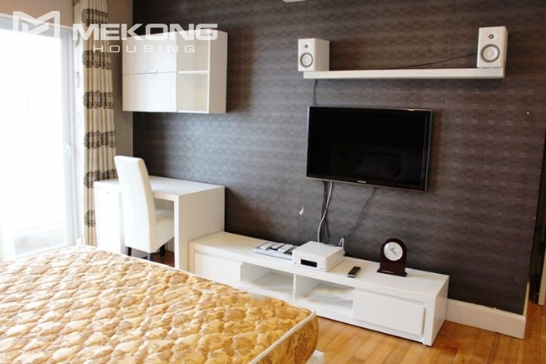 117 sqm apartment with 2 bedrooms and Westlake view for rent in Golden Westlake Hanoi 13