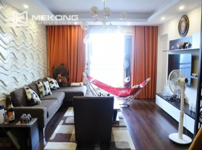 150 sqm renovated apartment with 4 bedrooms on high floor in G2 tower Ciputra Hanoi