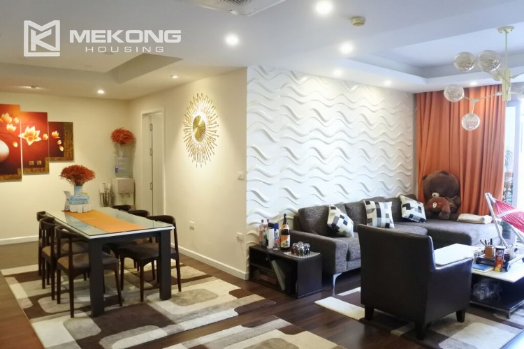 150 sqm renovated apartment with 4 bedrooms on high floor in G2 tower Ciputra Hanoi 15