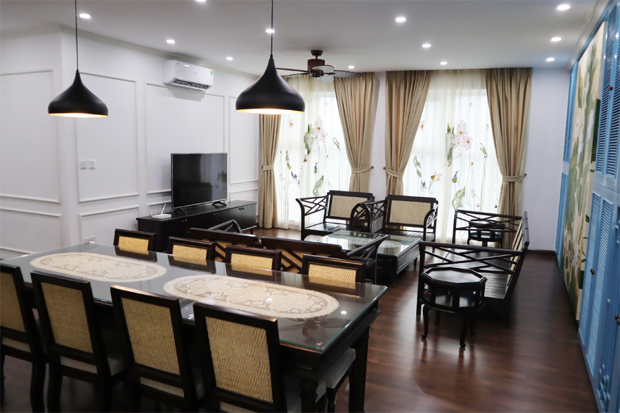 154 sqm apartment with 3 bedrooms on high floor in The Link L3 tower Ciputra Hanoi 3