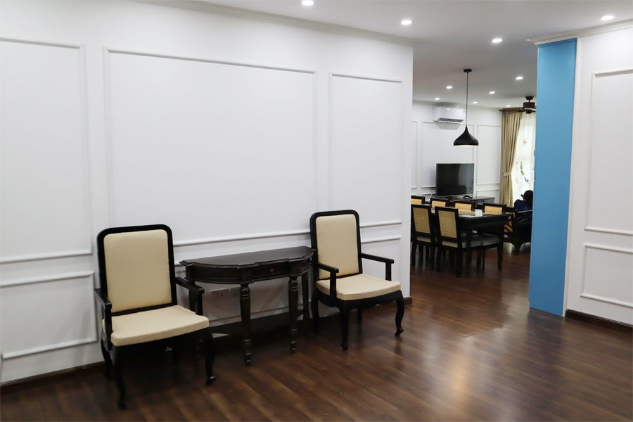 154 sqm apartment with 3 bedrooms on high floor in The Link L3 tower Ciputra Hanoi 5