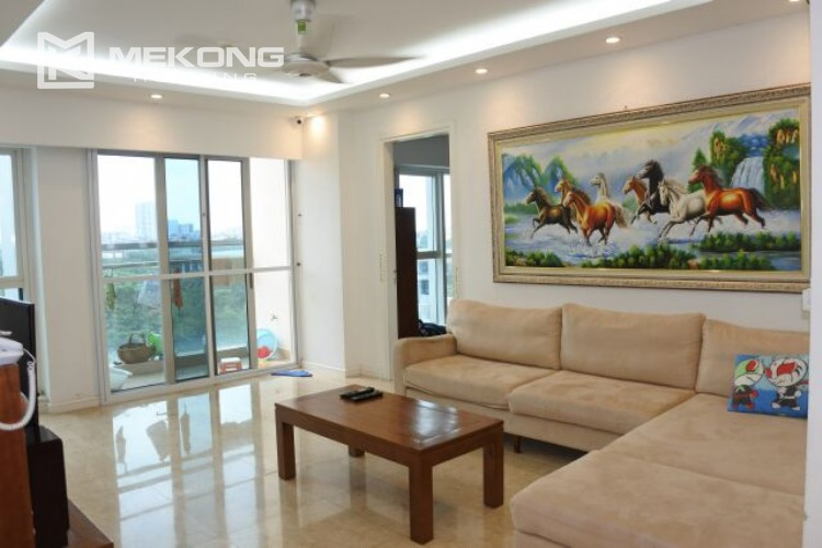 154m2 apartment for rent in Ciputra L tower 7