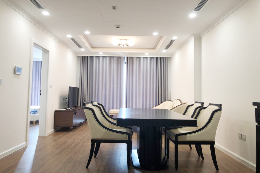 2 bedroom apartment on high floor with modern furniture in Sunshine Riverside Tay Ho, Hanoi 1