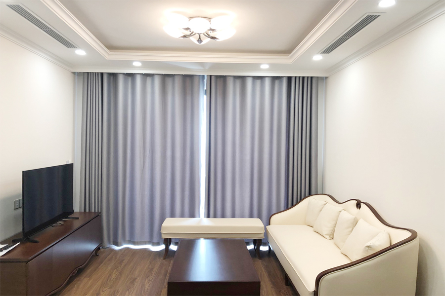 2 bedroom apartment on high floor with modern furniture in Sunshine Riverside Tay Ho, Hanoi 4