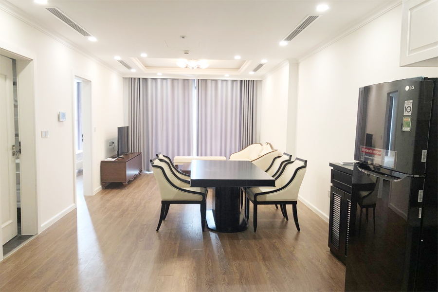 2 bedroom apartment on high floor with modern furniture in Sunshine Riverside Tay Ho, Hanoi 5