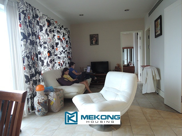 2 bedroom apartment on high floor with Westlake view for rent in Golden Westlake Hanoi