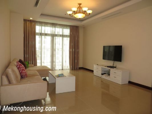 2 bedroom apartment with full furniture on high floor for rent in Vinhomes Royal City, Thanh Xuan district, Hanoi 1