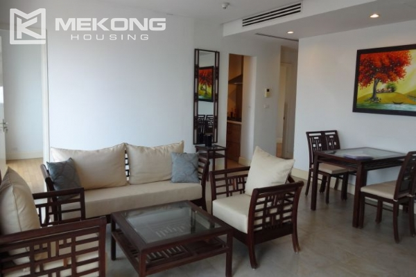 2 bedroom apartment with nice view for rent in Golden Westlake Hanoi 2