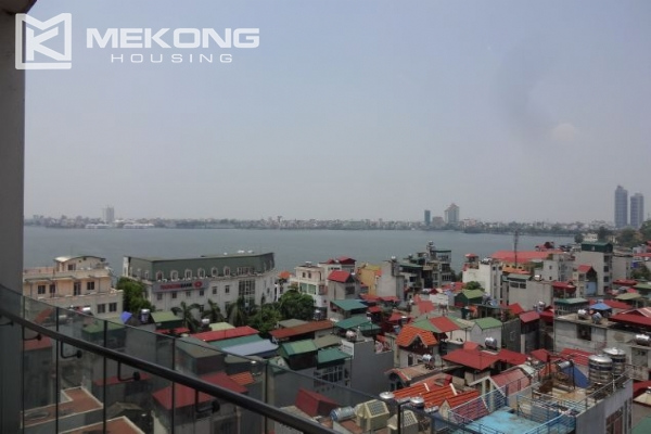 2 bedroom apartment with nice view for rent in Golden Westlake Hanoi 6