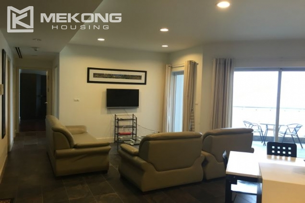2 bedroom furnished apartment with Westlake view for rent in Golden Westlake Hanoi 1