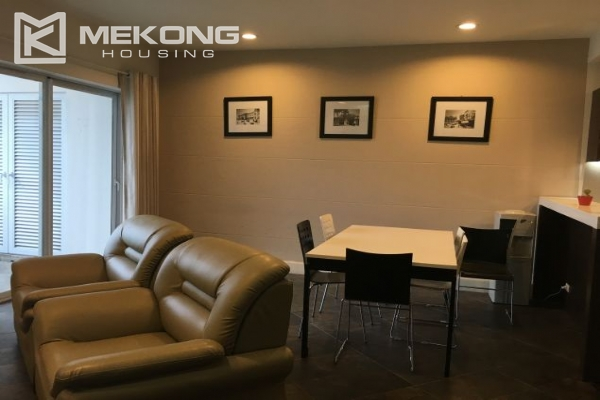 2 bedroom furnished apartment with Westlake view for rent in Golden Westlake Hanoi 2