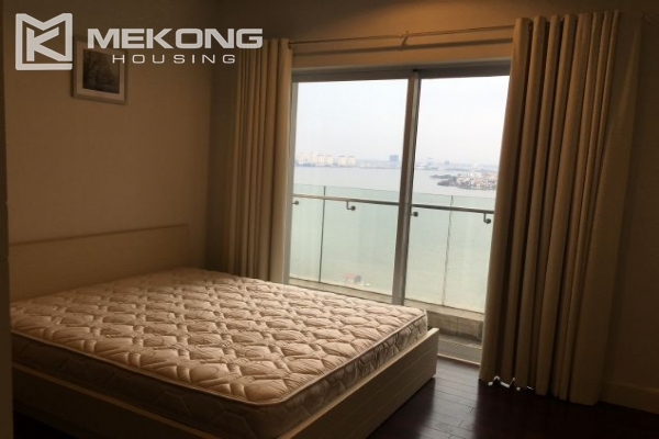 2 bedroom furnished apartment with Westlake view for rent in Golden Westlake Hanoi 7