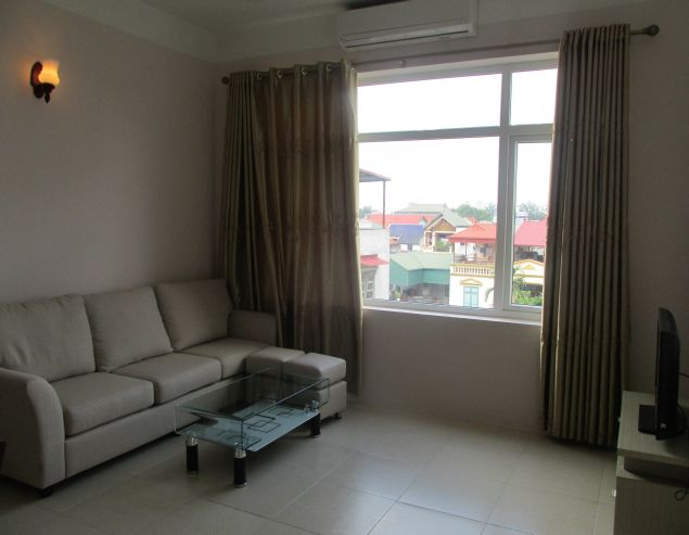 2 bedroom serviced apartment for rent in Xuan Dieu street, Tay Ho district, Hanoi, $600/month