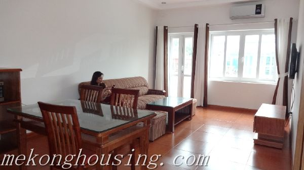 2 bedrooms, furnished service apartment for rent in Doc Ngu street, Ba Dinh district