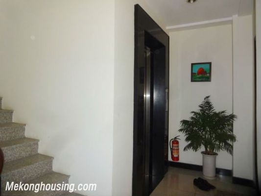 2 bedrooms serviced apartment for rent in Au Co street, Tay Ho, Hanoi 1