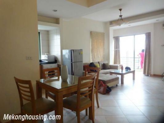 2 bedrooms serviced apartment for rent in Au Co street, Tay Ho, Hanoi 3