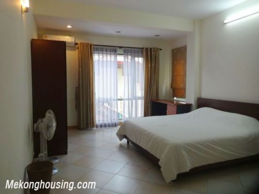 2 bedrooms serviced apartment for rent in Au Co street, Tay Ho, Hanoi 11