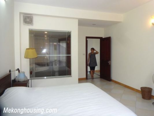 2 bedrooms serviced apartment for rent in Au Co street, Tay Ho, Hanoi 12