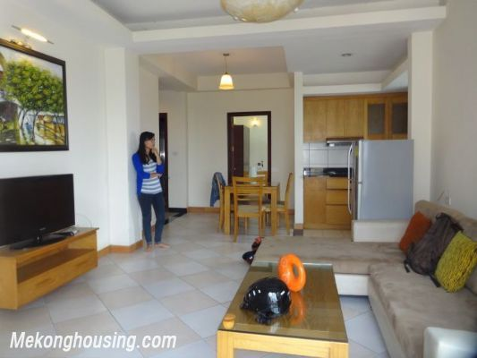 2 bedrooms serviced apartment for rent in Au Co street, Tay Ho, Hanoi 6