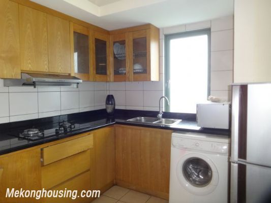 2 bedrooms serviced apartment for rent in Au Co street, Tay Ho, Hanoi 7