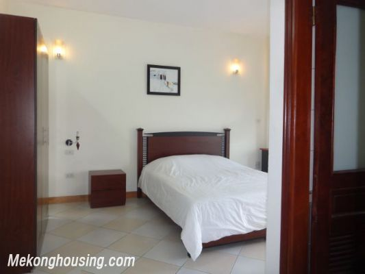 2 bedrooms serviced apartment for rent in Au Co street, Tay Ho, Hanoi 8