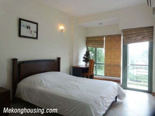 2 bedrooms serviced apartment for rent in Au Co street, Tay Ho, Hanoi 9