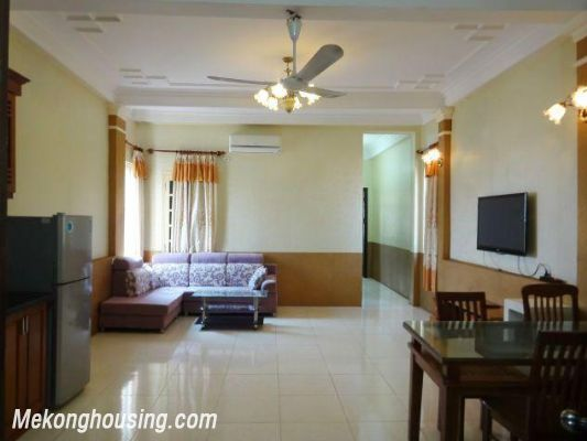 2 bedrooms serviced apartment for rent in Nghi Tam, Tay Ho, Hanoi 1