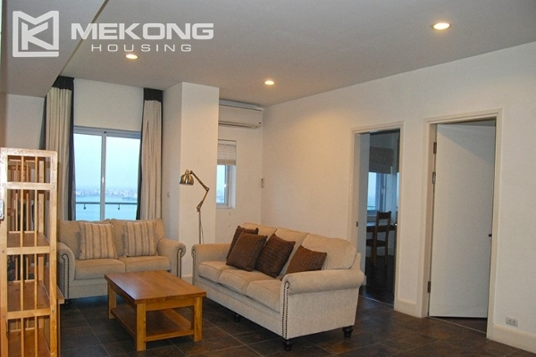 225 sqm apartment with 4 bedrooms and Westlake view for rent in Golden Westlake Hanoi 2