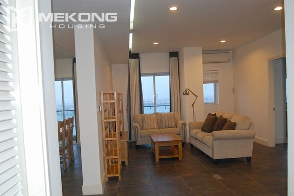 225 sqm apartment with 4 bedrooms and Westlake view for rent in Golden Westlake Hanoi 3