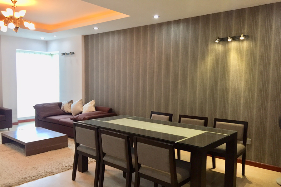 3 bedroom apartment on high floor for rent in L1 tower The Link Ciputra Hanoi 2