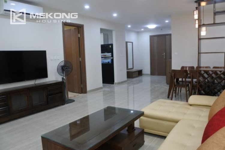 3 bedroom apartment on high floor for rent in The Link L3 Ciputra Hanoi 4