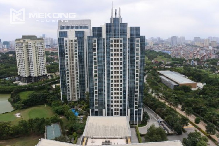 3 bedroom apartment on high floor for rent in The Link L3 Ciputra Hanoi 23