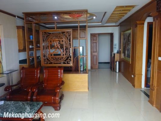 3 bedroom apartment on high floor with Red river view for rent in Packexim, Tay Ho district 1