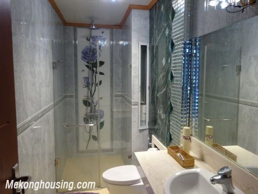 3 bedroom apartment on high floor with Red river view for rent in Packexim, Tay Ho district 10