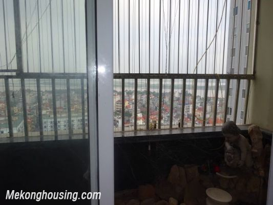 3 bedroom apartment on high floor with Red river view for rent in Packexim, Tay Ho district 11