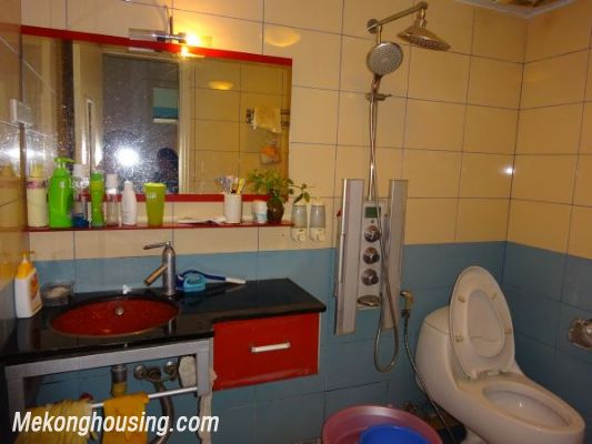 3 bedroom apartment on high foor for rent in Nguyen Chi Thanh, Ba Dinh district, Hanoi 6