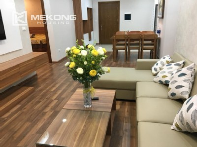 3 bedroom apartment with full furniture for rent in Goldmark City, 136 Ho Tung Mau