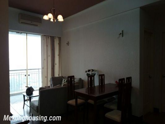 3 bedrooms apartment for lease in Ngoc Khanh street, Ba Dinh district, Hanoi 1