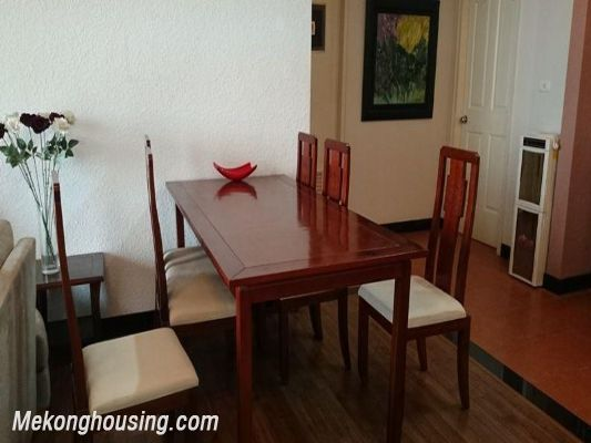 3 bedrooms apartment for lease in Ngoc Khanh street, Ba Dinh district, Hanoi 5