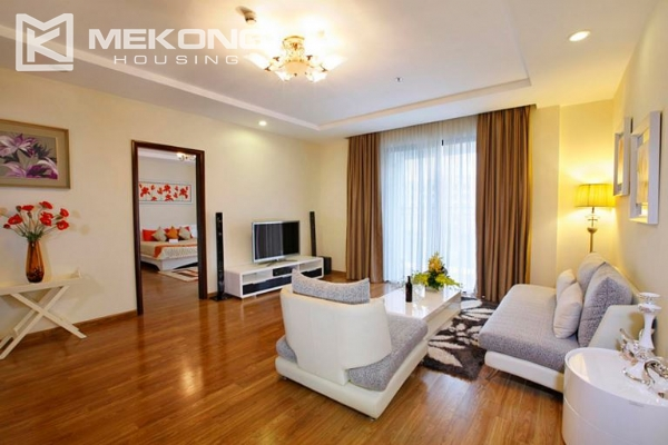 3 bedrooms apartment with furnished for rent in Times City 1