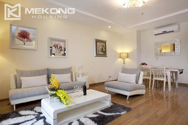 3 bedrooms apartment with furnished for rent in Times City 2