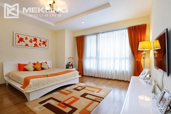 3 bedrooms apartment with furnished for rent in Times City 5