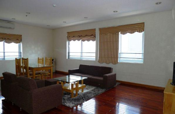 3 cozy bedrooms serviced apartment for rent in Kim Ma street, Ba Dinh district, Hanoi