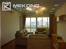 4 bedroom apartment with modern furniture in E5 tower, Ciputra Hanoi