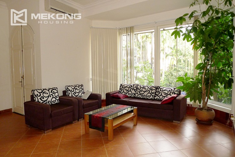 4 bedrooms villa for rent in Tay Ho, very close to West Lake 12