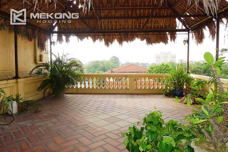 4 bedrooms villa for rent in Tay Ho, very close to West Lake 19