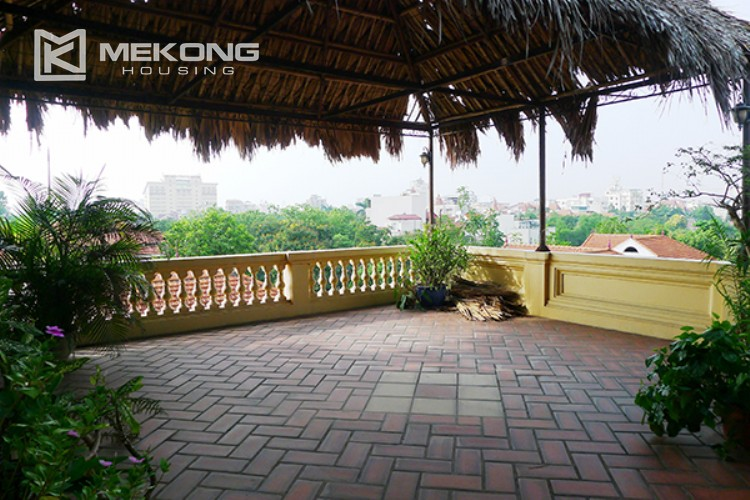 4 bedrooms villa for rent in Tay Ho, very close to West Lake 20