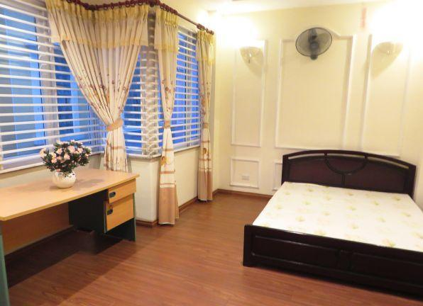 4 floors house with modern furniture for rent in Doi Can street, Ba Dinh district, Hanoi